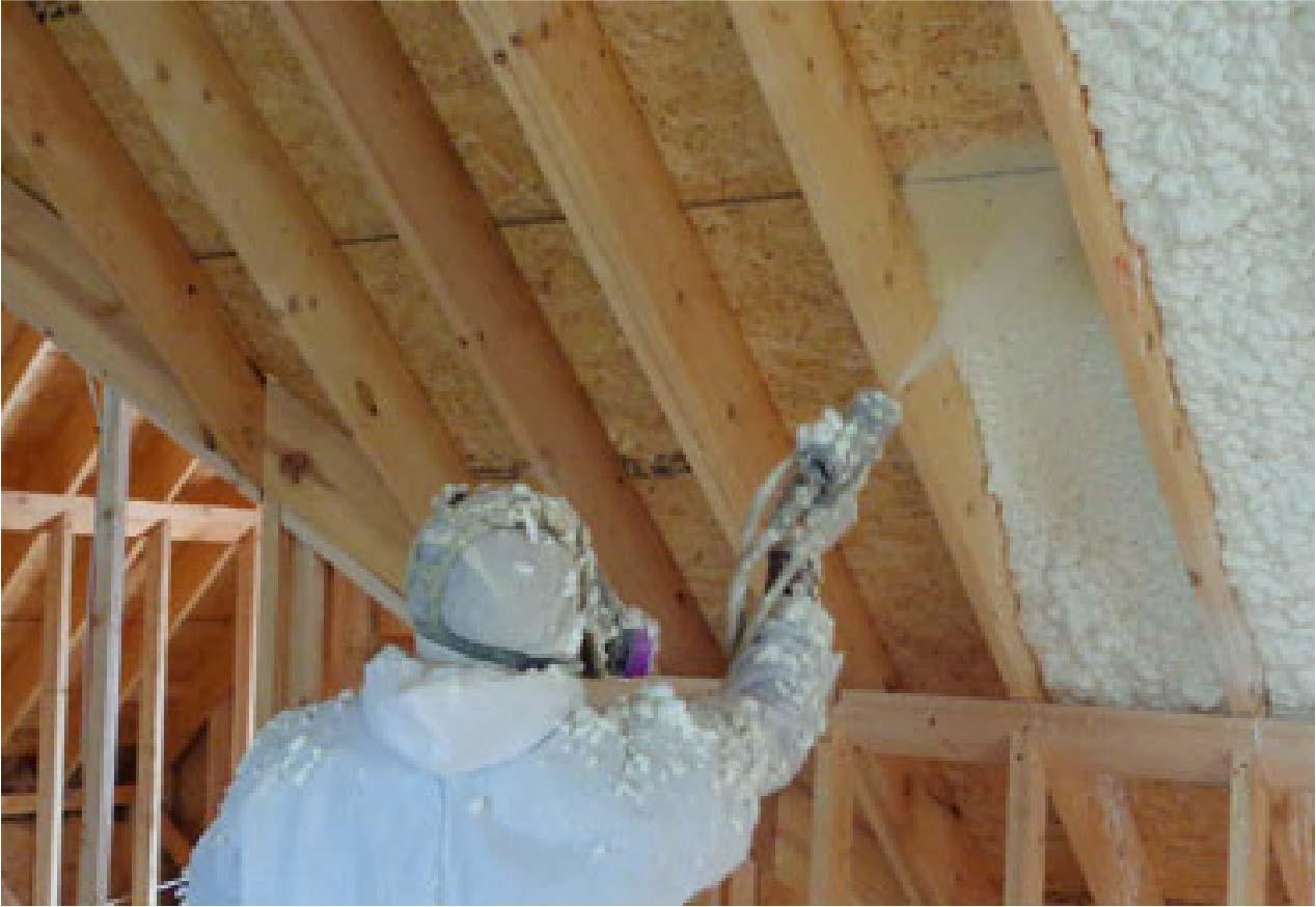 Spray Foam Insulation 1